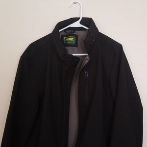 STAND COLLAR SOFT SHELL JACKET